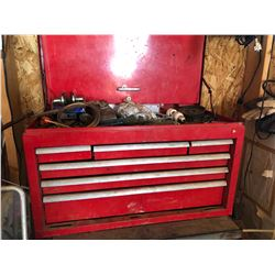 BENCH TOP TOOL BOX WITH CONTENTS