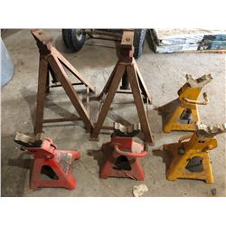 LOT OF 6 SAFETY STANDS