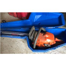 HUSQVARNA 445 CHAINSAW WITH CASE