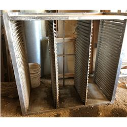 "STAINLESS STEEL BAKERS RACK - 16"" X 20"" X 48"""