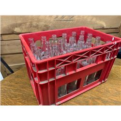 CRATE AND COCA-COLA BOTTLES