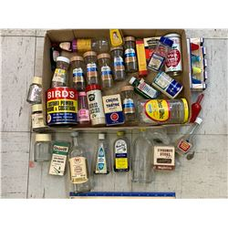 LOT OF VINTAGE SPICE AND KITCHEN RELATED