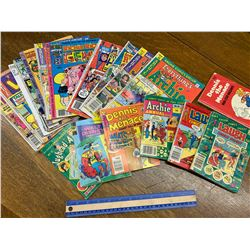 LOT OF ARCHIE COMICS BOOKS ETC