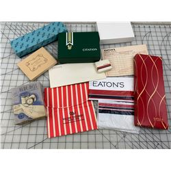 LOT OF EATONS AND OTHERS RETAIL BOXES BAGS ETC