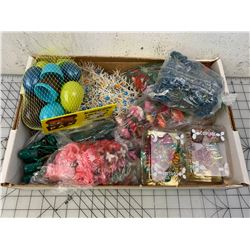 LOT OF VARIOUS CRAFTING FLOWERS ETC