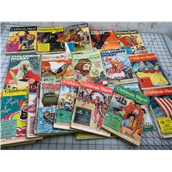 LOT OF 1950S 60S CHILDRENS DIGEST BOOKS