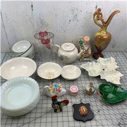 MISC GLASS AND CHINA LOT