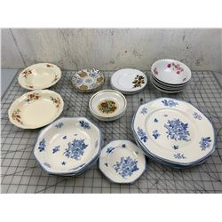 MISC CHINA DISHES