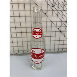 DR PEPPER SODA POP BOTTLE