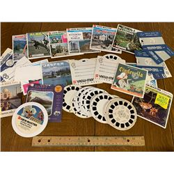 LOT OF VIEW-MASTER SLIDES