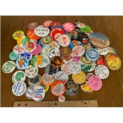 LOT OF PINBACK BUTTONS