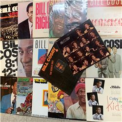 LOT OF 14 DIFFERENT BILL COSBY RECORDS