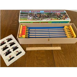 VINTAGE SHINSEI HORSE RACING GAME WITH BOX