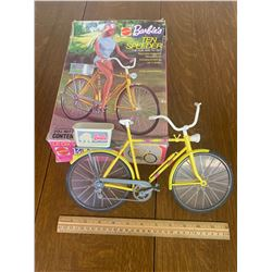 VINTAGE BARBIE TEN SPEED TOY BIKE WITH BOX