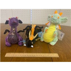 WEBKINZ DRAGON PLUSH TOYS