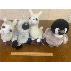 WEBKINZ PLUSH ANIMAL TOYS