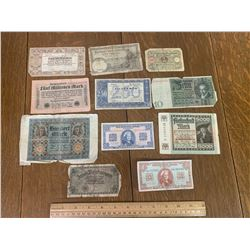 WWII ERA BANK NOTES
