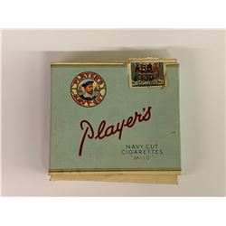 VINTAGE PLAYERS PAPER CIGARETTE PACK
