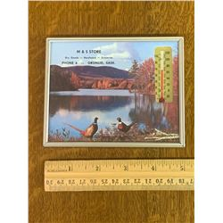 VINTAGE GRONLID SASK THERMOMETER