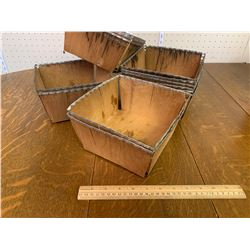VINTAGE WOODEN BERRY TRAYS