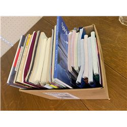 BOX OF MOSTLY COOK BOOKS