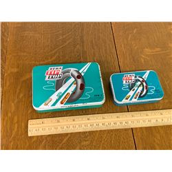 LOT OF 2 REMA TIP TOP TIRE PATCH TINS
