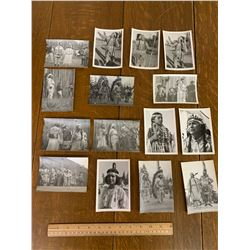 LOT OF NATIVE AMERICAN PHOTOGRAPHS