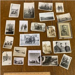 LOT OF MILITARY PHOTOGRAPHS