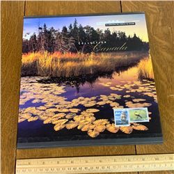 1999 COLLECTION OF CANADA POST STAMP BOOK