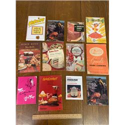 LOT OF PROMOTIONAL AND ADVERTING COOKBOOKS