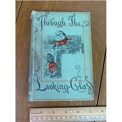1891 THROUGH THE LOOKING GLASS BOOK BY LEWIS CAROL PUBLISHED BY MACMILLAN AND CO NEW YORK