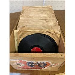 CRATE OF 78RPM RECORDS