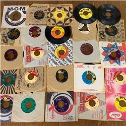 Lot of 25 VARIOUS 45RPM RECORDS NEIL DIAMOND ROY ORBISON JOHNNY HORRON and MORE