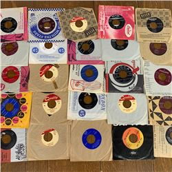 Lot of 25 VARIOUS 45RPM RECORDS ELVIS ROY ORBISON PATTI PAGE and MORE