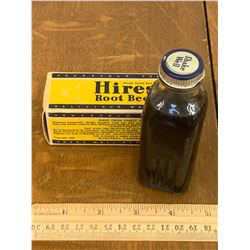 VINTAGE HIRES ROOTBEER EXTRACT WITH BOX