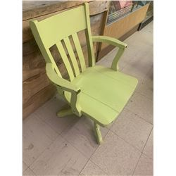 OLD PAINTED OFFICE CHAIR