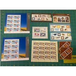FULL UNUSED CANADA POST STAMP SHEETS FULL