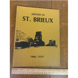 LOCAL HISTORY BOOK ST. BRIEUX 1904-1979