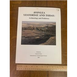 LOCAL HISTORY BOOK AVONLEA SASK