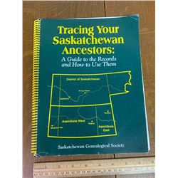SASKATCHEWAN GENEALOGICAL SOCIETY BOOK
