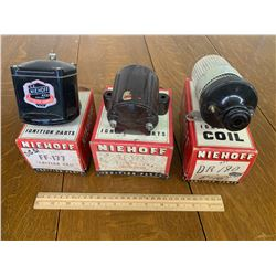 LOT OF VARIOUS NEW OLD STOCK IGNITION COILS