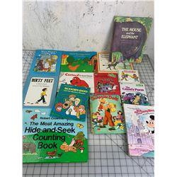 LOT OF VINTAGE CHILDRENS BOOKS