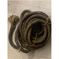 LENGTH OF ANTIQUE ROPE