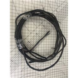 LENGTH OF ANTIQUE BRAIDED COPPER GROUND WIRE