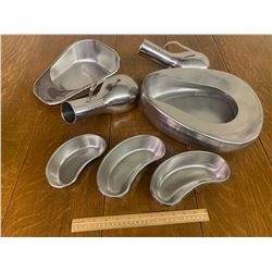 STAINLESS STEEL BEDPANS ETC
