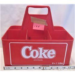COKE CARRY CASE 6x1 1L