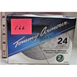 24 TOMMY ARMOUR GOLF BALLS
