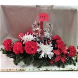 "20""x11"" CHRISTMAS CANDLE CENTER PIECE"