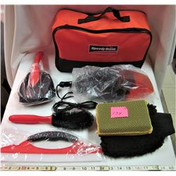 """COMPLETE """"SPEEDY GLASS"""" CAR CLEANING KIT"""