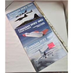 CANADIAN SKIES RCAF CALENDAR